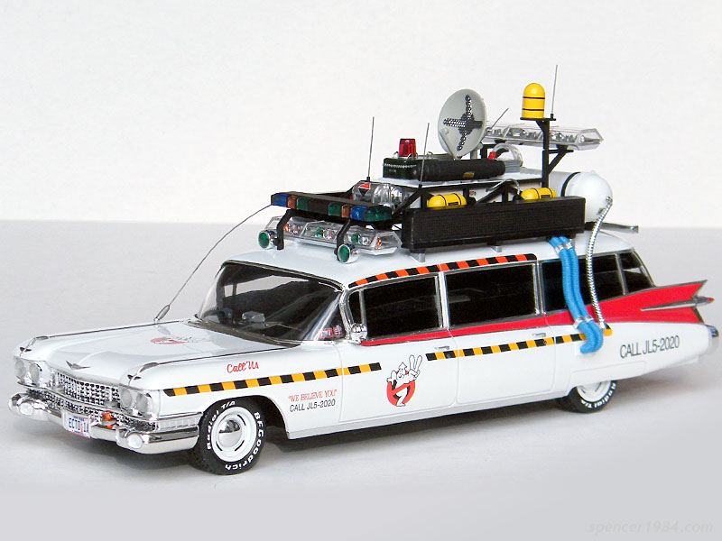 final build for 2014 ghostbusters 2 ecto 1a scale auto. Black Bedroom Furniture Sets. Home Design Ideas
