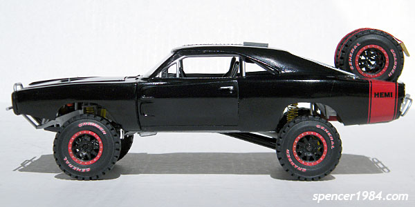 Furious 7 Off Road Charger Scale Auto Magazine For Building