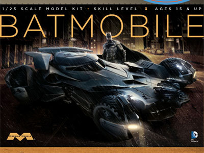 Batman v. Superman: Dawn of Justice Batmobile by Moebius Models