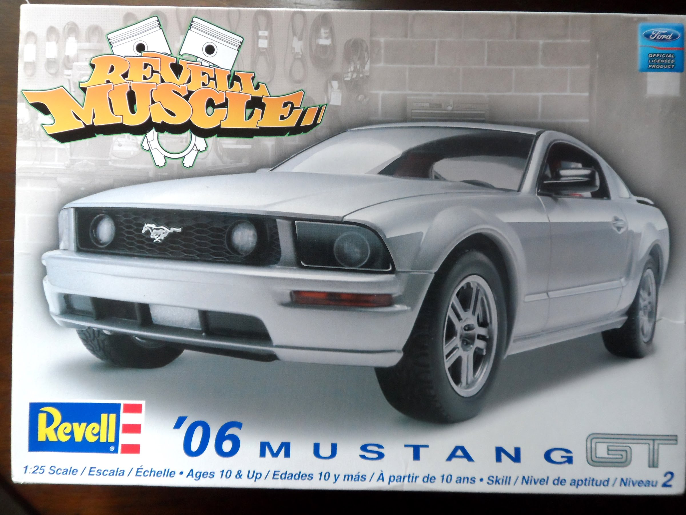 Looking for Revell \'06 Mustang GT Wheels - Scale Auto Magazine - For ...