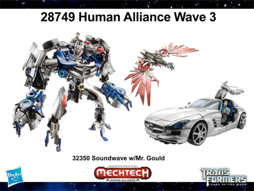 Human Alliance Soundwave