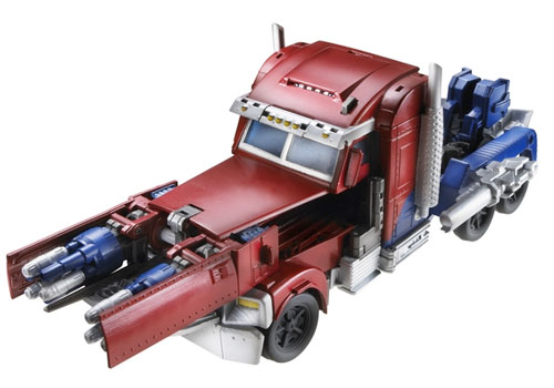 Weaponizers Optimus Prime