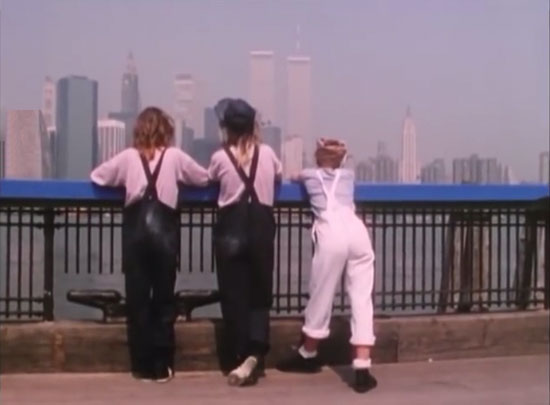 The World Trade Center as seen in the Bananarama music video for Cruel Summer