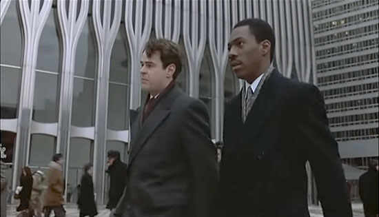 The World Trade Center as seen in the movie Trading Places