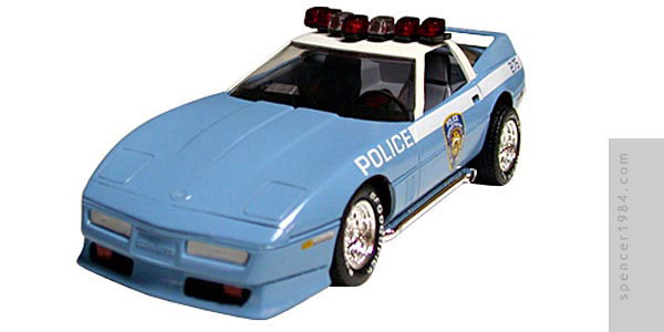 New York  City Police Department Corvette custom