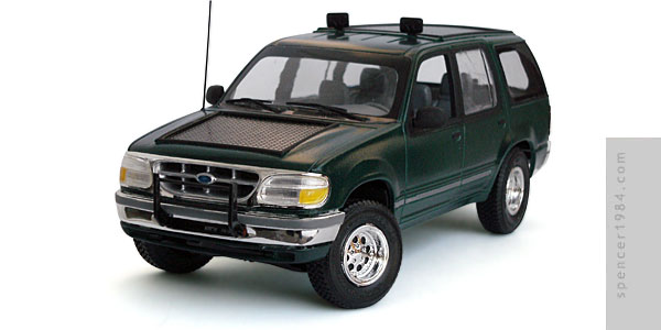 Thorne Mobile Field Systems Ford Explorer Electric Vehicle from the novel The Lost World