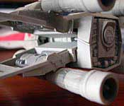 X-Wing engine detail
