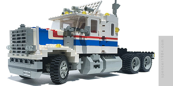 LEGO Highway Rig custom