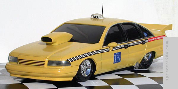 Chevrolet Caprice Pro Street Taxi