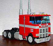 LEGO Optimus Prime truck mode