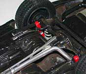 Knight Rider Legends KITT rear suspension