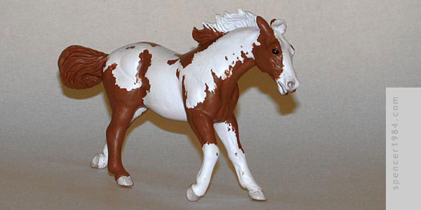 Horse figure based on the character in the movie Hidalgo