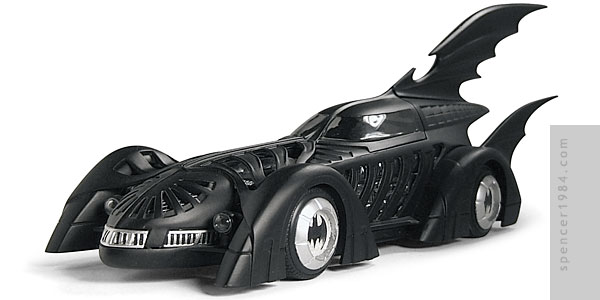 Val Kilmer's Batmobile from the movie Batman Forever