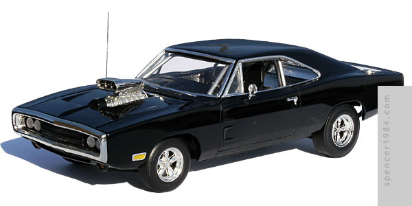 Vin Diesel's 1970 Dodge Charger from the movie The Fast and the Furious