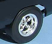 The Fast and the Furious Dodge rear wheel