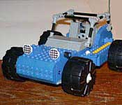 LEGO Beachcomber dune buggy mode