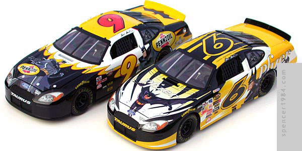 NASCAR Batman Ford Tauruses