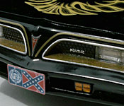 Bandit Firebird Georgia state flag license plate