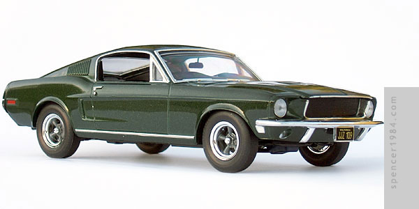 Steve McQueen's 1968 Ford Mustang from the movie Bullitt