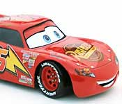 Lightning McQueen side detail