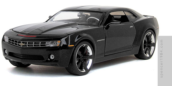 Camaro KITT inspired by the 2008 TV series