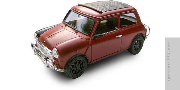 1/24 scale Bourne Identity Mini