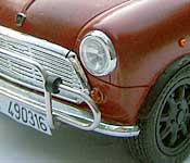 Bourne Identity Mini left front fender detail