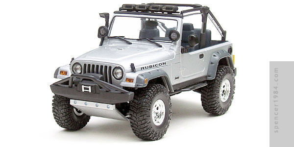 Angelina Jolie's Jeep Wrangler Rubicon TJ from the movie Lara Croft Tomb Raider: The Cradle of Life