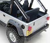 Cradle of Life Jeep rear