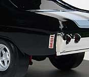 Speed Demon 1970 Chevelle with 1972 Chevelle rear bumper