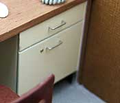 Carbicle desk drawers