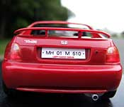 Taarzan CRX MH 01 M 510 India license plate