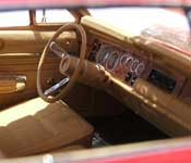 Traveller dashboard with automatic gear shift