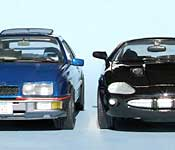 Misfile Jaguar XKR and Merkur XR4Ti