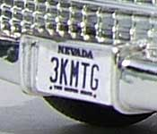 3000 Miles to Graceland Cadillac 3KMTG Nevada license plate