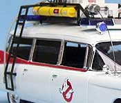 Ghostbusters Ectomobile side detail