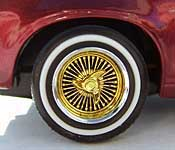 Pretty Fly Pinto wheel