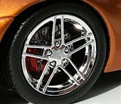 Corvette Z06 wheel detail