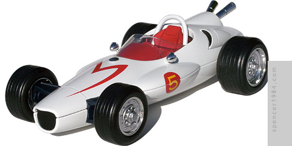 Speed Racer's F1 Mach 5