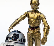 C-3P0 and R2-D2