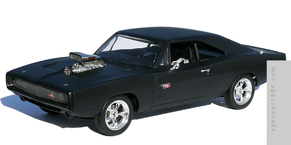 Vin Diesel's 1970 Dodge Charger from the movie Fast and Furious