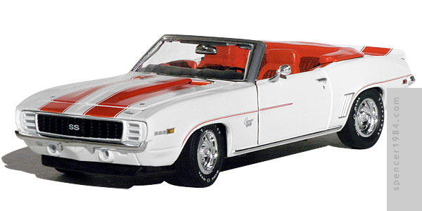 Drew Barrymore's 1969 Camaro from the movie Charlie's Angels