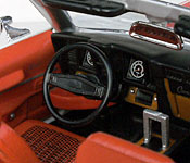 Charlie's Angels Camaro interior
