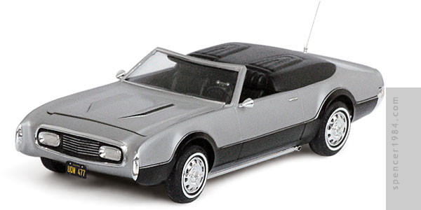 Oldsmobile Toronado from the TV series Mannix
