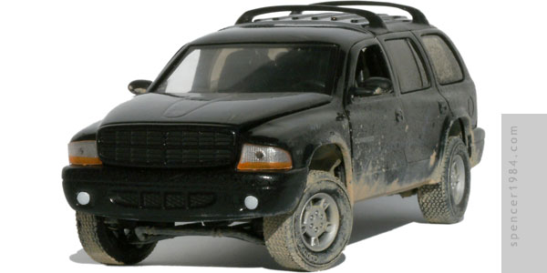 Dodge Durango from the movie Dark Harvest 2: The Maize
