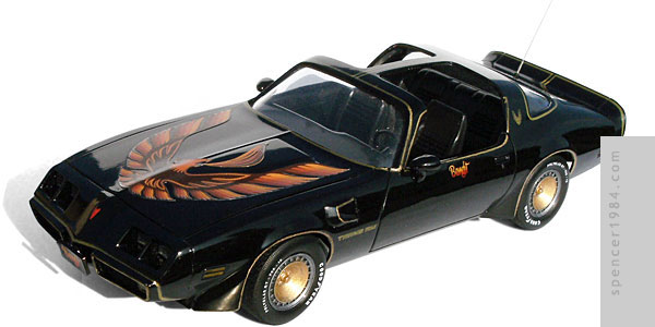 Burt Reynolds' 1980 Firebird T/A from the movie Smokey and the Bandit 2
