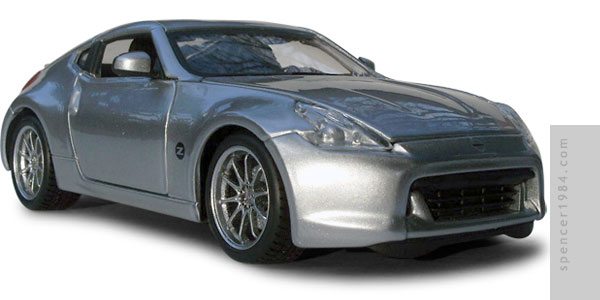 Nissan 370Z from the movie 200 MPH