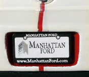 I Am Legend Mustang rear license plate