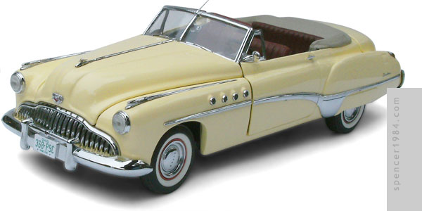 1949 Buick Roadmaster from the movie Rain Man