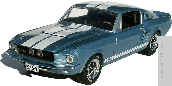 Rally Vincent's 1967 Shelby GT500 from Gunsmith Cats